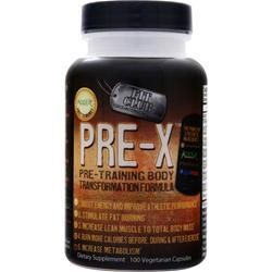 FIT CLUB Pre-X - PreTraining Formula 100 vcaps