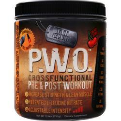 Fit Club P.W.O. Cross Functional Pre & Post Workout Cherry Bomb 352 grams