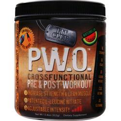 FIT CLUB P.W.O. Cross Functional Pre & Post Workout Watermelon 352 grams