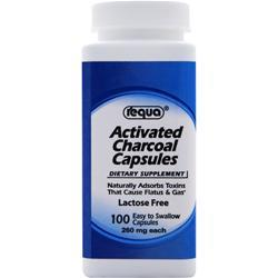 Requa Activated Charcoal 100 caps