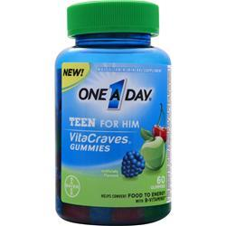 BAYER HEALTHCARE ONE A DAY Teen for Him 60 gummy