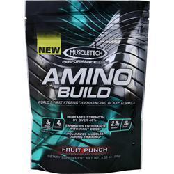 Muscletech Amino Build Fruit Punch 86 grams