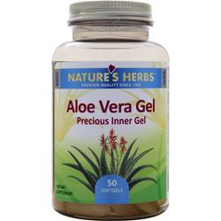NATURE'S HERBS Aloe Vera Gel 50 sgels