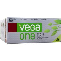 VEGA One Bar Chocolate Cherry Almond 12 bars