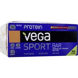 VEGA Vega Sport - Protein Bar Chocolate Peanut Butter 12 bars