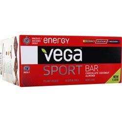 VEGA Vega Sport - Energy Bar Chocolate Coconut Almond 12 bars