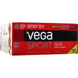 VEGA Vega Sport - Energy Bar Apple Cherry 12 bars