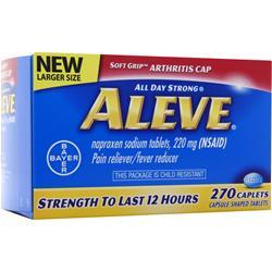 Bayer Healthcare Aleve - All Day Strong 270 caps