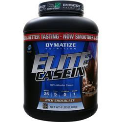 DYMATIZE NUTRITION Elite Casein Protein Rich Chocolate 4 lbs