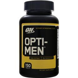 OPTIMUM NUTRITION Opti-Men Multivitamin 150 tabs