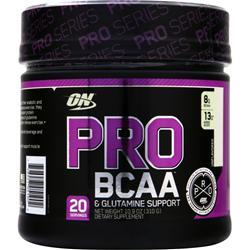 Optimum Nutrition Pro BCAA & Glutamine Support Unflavored 310 grams