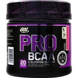 Optimum Nutrition Pro BCAA & Glutamine Support Raspberry Lemonade 390 grams