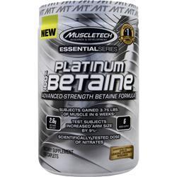 MUSCLETECH Essential Series - Platinum 100% Betaine 168 cplts
