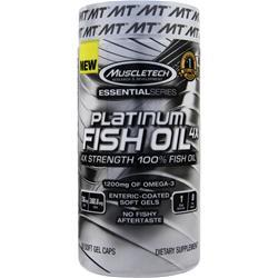MUSCLETECH Essential Series - Platinum Fish Oil 4X 60 sgels