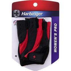 HARBINGER Women's Pro Glove Wash and Dry Black/Pink (Medium) 2 glove