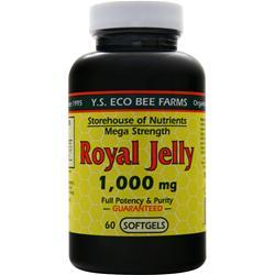Y.S. Eco Bee Farms Royal Jelly (1,000mg) 60 sgels