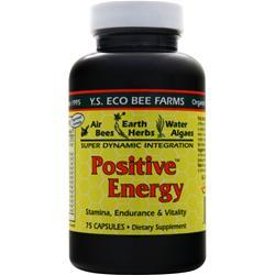 Y.S. Eco Bee Farms Positive Energy 75 caps