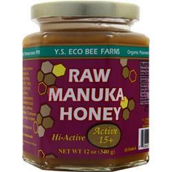 Y.S. ECO BEE FARMS Raw Manuka Honey 12 oz