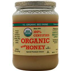 Y.S. Eco Bee Farms Organic Raw Honey 2 lbs