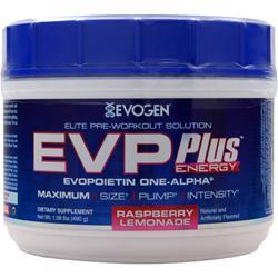 EVOGEN EVP Plus Energy Raspberry Lemonade 490 grams