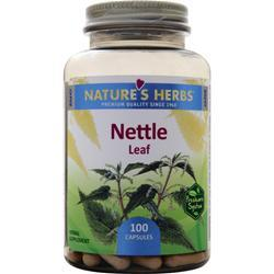 NATURE'S HERBS Nettle Leaf 100 caps