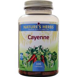 Nature's Herbs Cayenne 100 caps