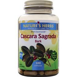 Nature's Herbs Cascara Sagrada Bark 100 caps