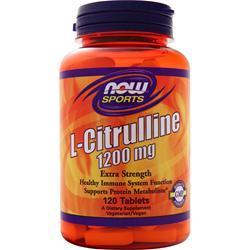 Now L-Citrulline (1200mg) 120 tabs
