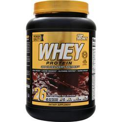 Top Secret Nutrition Whey Protein - Quad Delivery Matrix Chocolate Ice Cream 2 lbs