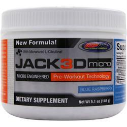 USP Labs Jack3D Micro Blue Raspberry 5.1 oz