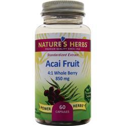 Nature's Herbs Acai Fruit (850mg) 60 caps