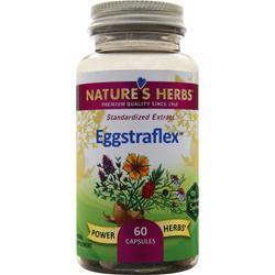 Nature's Herbs Eggstraflex - Standardized Extract 60 caps