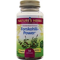 Nature's Herbs Forskohlii Power 50 caps