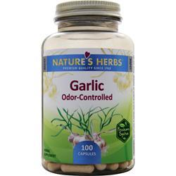 NATURE'S HERBS Garlic Odor-Controlled 100 caps