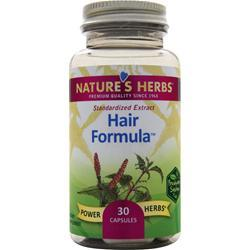 NATURE'S HERBS Hair Formula 30 caps