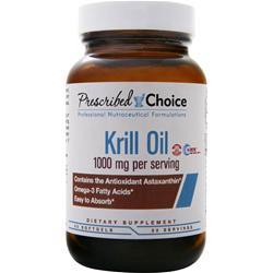 Prescribed Choice Krill Oil 60 sgels