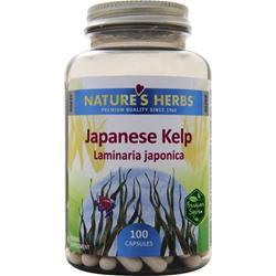 NATURE'S HERBS Japanese Kelp 100 caps