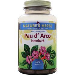 Nature's Herbs Pau D'Arco 100 caps