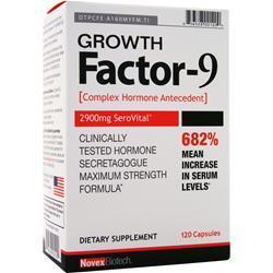 Novex Biotech Growth Factor-9 120 caps