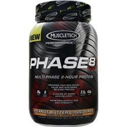 Muscletech Phase 8 - Multi Phase 8 Hour Protein Peanut Butter Chocolate 2 lbs