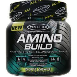 MUSCLETECH Amino Build White Grape 261 grams