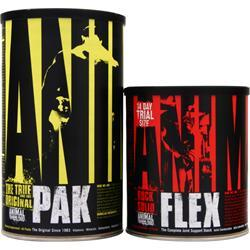 UNIVERSAL NUTRITION Animal Pak with Free Animal Flex 44 pckt