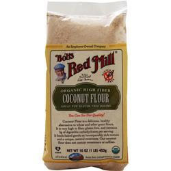 BOB'S RED MILL Organic High Fiber Coconut Flour 16 oz