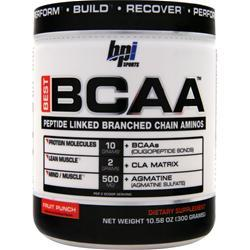 BPI Best BCAA Fruit Punch 300 grams
