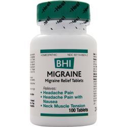 Heel BHI - Migraine 100 tabs