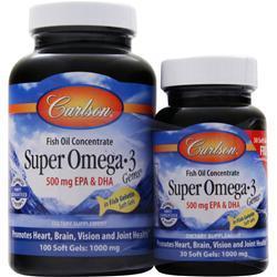 Carlson Super Omega-3 100+30 130 sgels
