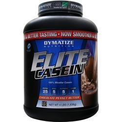 Dymatize Nutrition Elite Casein Protein Chocolate Peanut Butter 4 lbs