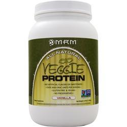 MRM Veggie Protein - 100% All Natural Vanilla 40 oz