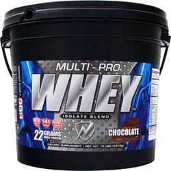NEW WHEY NUTRITION Multi-Pro Whey Isolate Blend Chocolate 10 lbs