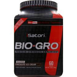 ISATORI Bio-Gro Powder - Protein Synthesis Amplifier Chocolate Ice Cream 146 grams